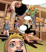 Barnell Bohusk (Earth-616) and Family from New Mutants Vol 4 3 001