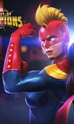 Carol Danvers (Classic) (Earth-TRN517) from Marvel Contest of Champions 002
