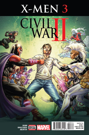 Civil War II X-Men Vol 1 3