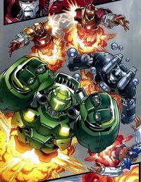 Crimson Dynamos (Earth-1610) Ultimate Fantastic Four Vol 1 47
