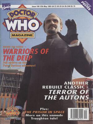 Doctor Who Magazine Vol 1 199
