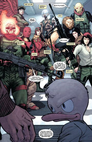 Ducky Dozen (Earth-616) from Marvel Zombies Destroy! Vol 1 1 0001