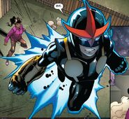 Eva Alexander (Earth-616) and Samuel Alexander (Earth-616) from Nova Vol 5 10 0001
