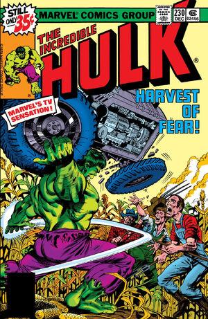 Incredible Hulk Vol 1 230