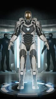 Iron Man Armor MK XXXIX (Earth-199999) 001