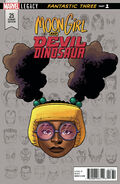 Moon Girl and Devil Dinosaur Vol 1 25 Legacy Headshot Variant