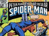 Peter Parker, The Spectacular Spider-Man Vol 1 75