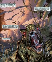 Savage Land from Badrock Wolverine Vol 1 1 001