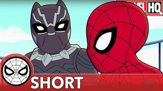 """We Need Spidey & Black Panther Right MEOW! Marvel Super Hero Adventures """"Family Friendly"""" SHORT"""