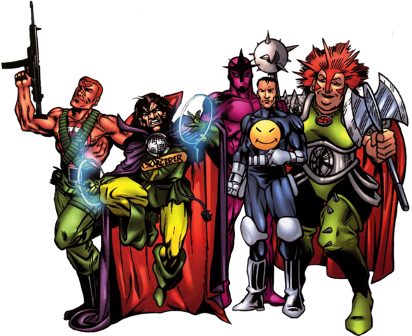 File:Band of the Bland (Earth-616) from All-New Official Handbook of the Marvel Universe A to Z Vol 1 1 0001.png