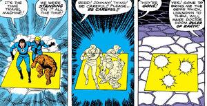 Doctor Doom's Time Platform from Fantastic Four Vol 1 5 0001