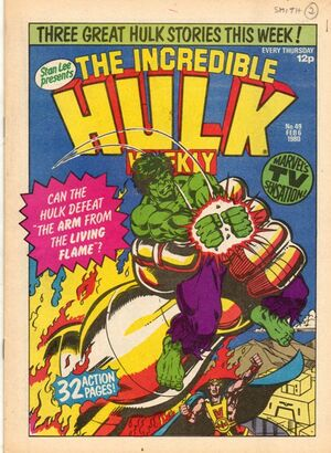 Hulk Comic (UK) Vol 1 49