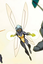 Janet Van Dyne (Earth-12041) from Avengers Solo Act Vol 1 1 001