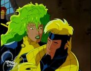 Lorna Dane (Earth-92131) and Alexander Summers (Earth-92131) from X-Men The Animated Series Season 3 15 001