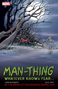 Man-Thing Whatever Knows Fear TPB Vol 1 1