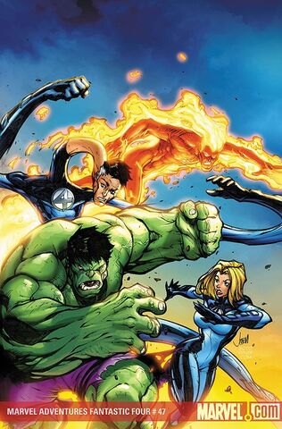File:Marvel Adventures Fantastic Four Vol 1 47 Textless.jpg