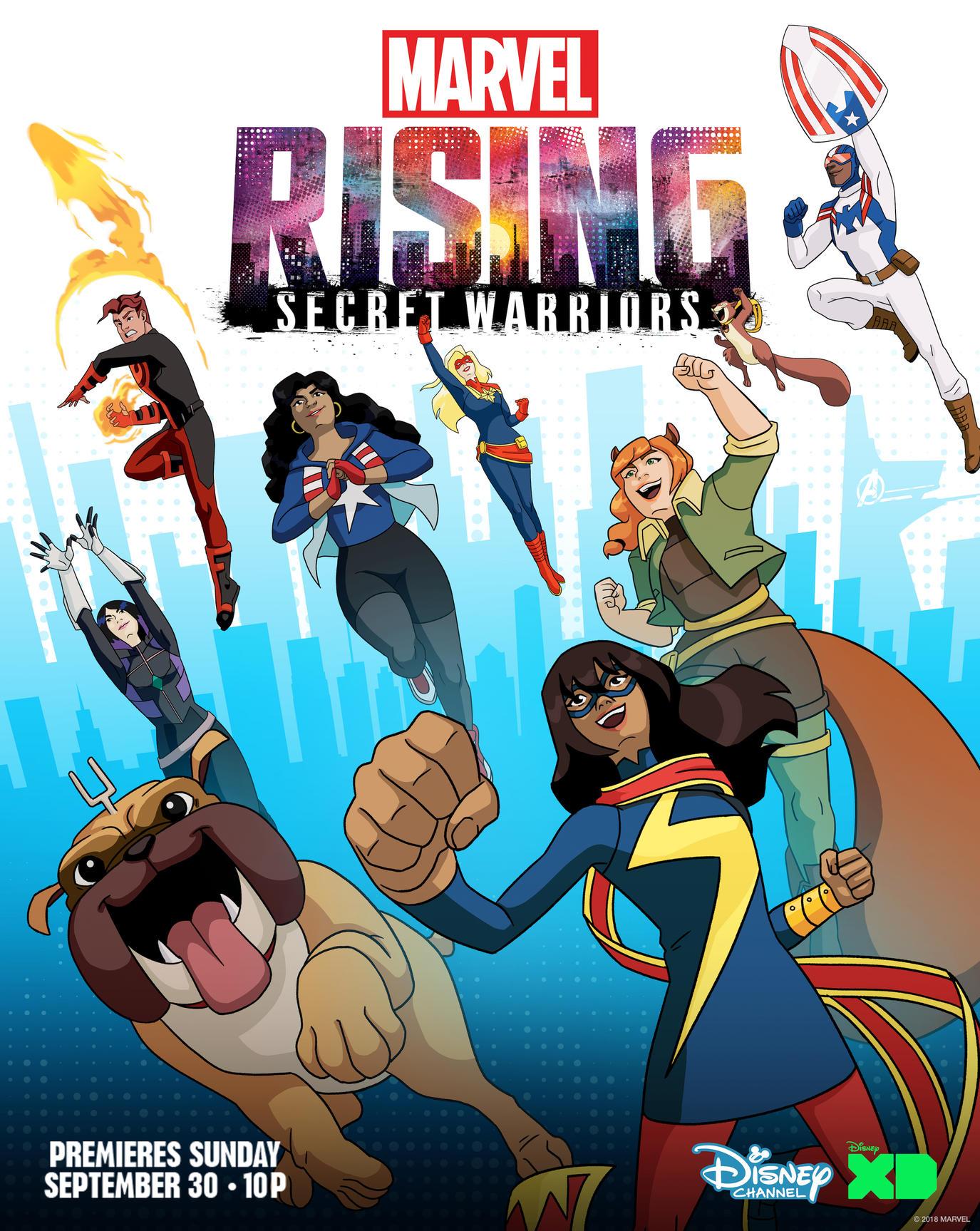 Marvel Rising: Secret Warriors | Marvel Database | FANDOM powered by ...
