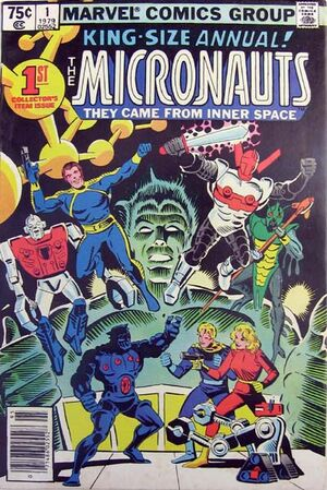 Micronauts Annual Vol 1 1
