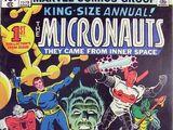 Micronauts Annual Vol 1 1
