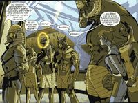 Pharaoh's Guard (Earth-20051) from Marvel Adventures Fantastic Four Vol 1 23 0001