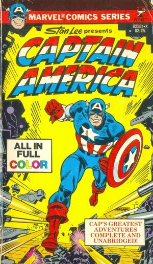 Pocket Book Series Captain America Vol 1 1