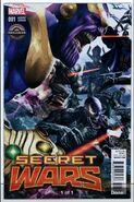 Secret Wars Vol 1 1 Gamestop Villains Variant