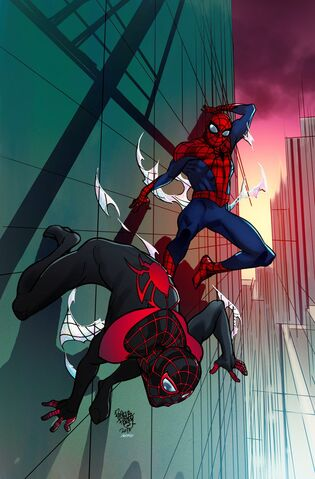 File:Spider-Men II Vol 1 1 Fried Pie Exclusive Variant Textless.jpg