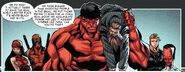 Thunderbolts (Red Hulk) (Earth-616) and Johann Fennhoff (Earth-616) from Thunderbolts Vol 2 27 002
