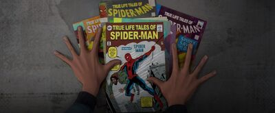 True Life Tales of Spider-Man from Spider-Man Into the Spider-Verse 001