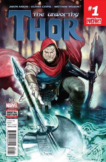 Unworthy Thor #1 Hip Hop Variant Marvel Comics 1st Print