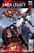 X-Men Legacy Vol 1 236 2nd Printing Variant