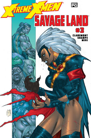 X-Treme X-Men Savage Land Vol 1 3