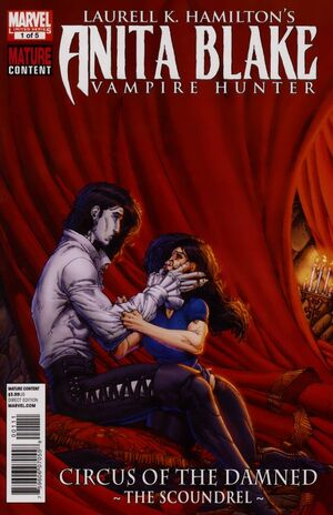 Anita Blake Circus of the Damned - The Scoundrel Vol 1 1