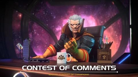 Contest of Comments Marvel Contest of Champions