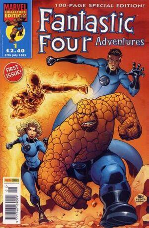 Fantastic Four Adventures Vol 1 1