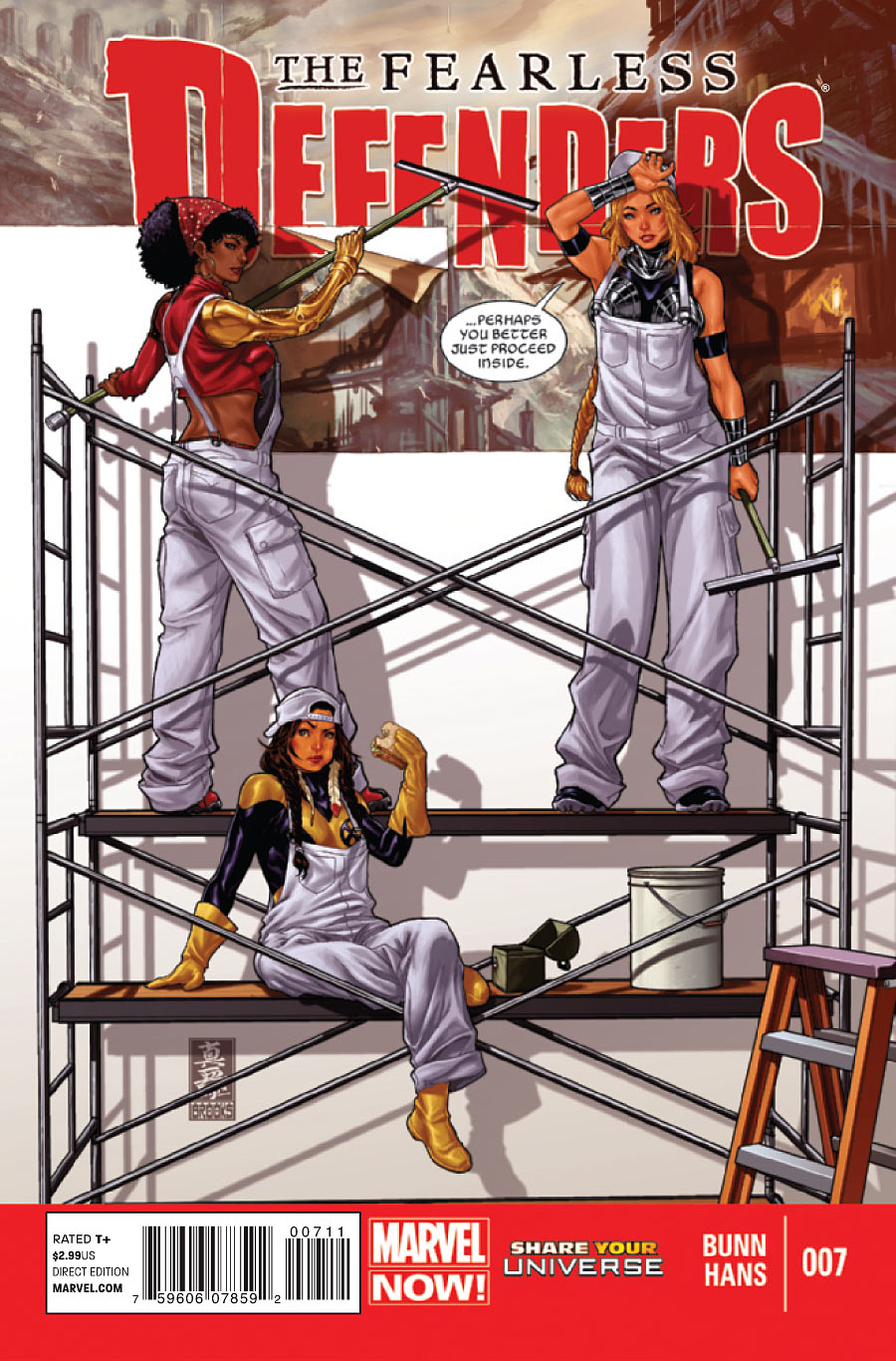7 Muses Comics fearless defenders vol 1 7 | marvel database | fandom