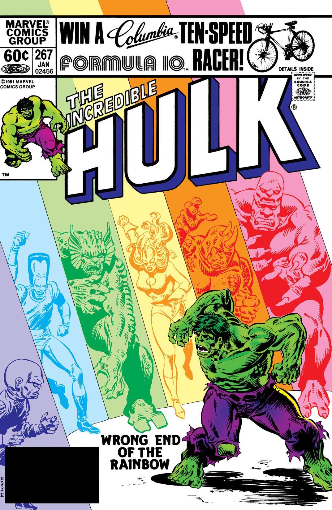 Image result for hulk rainbows
