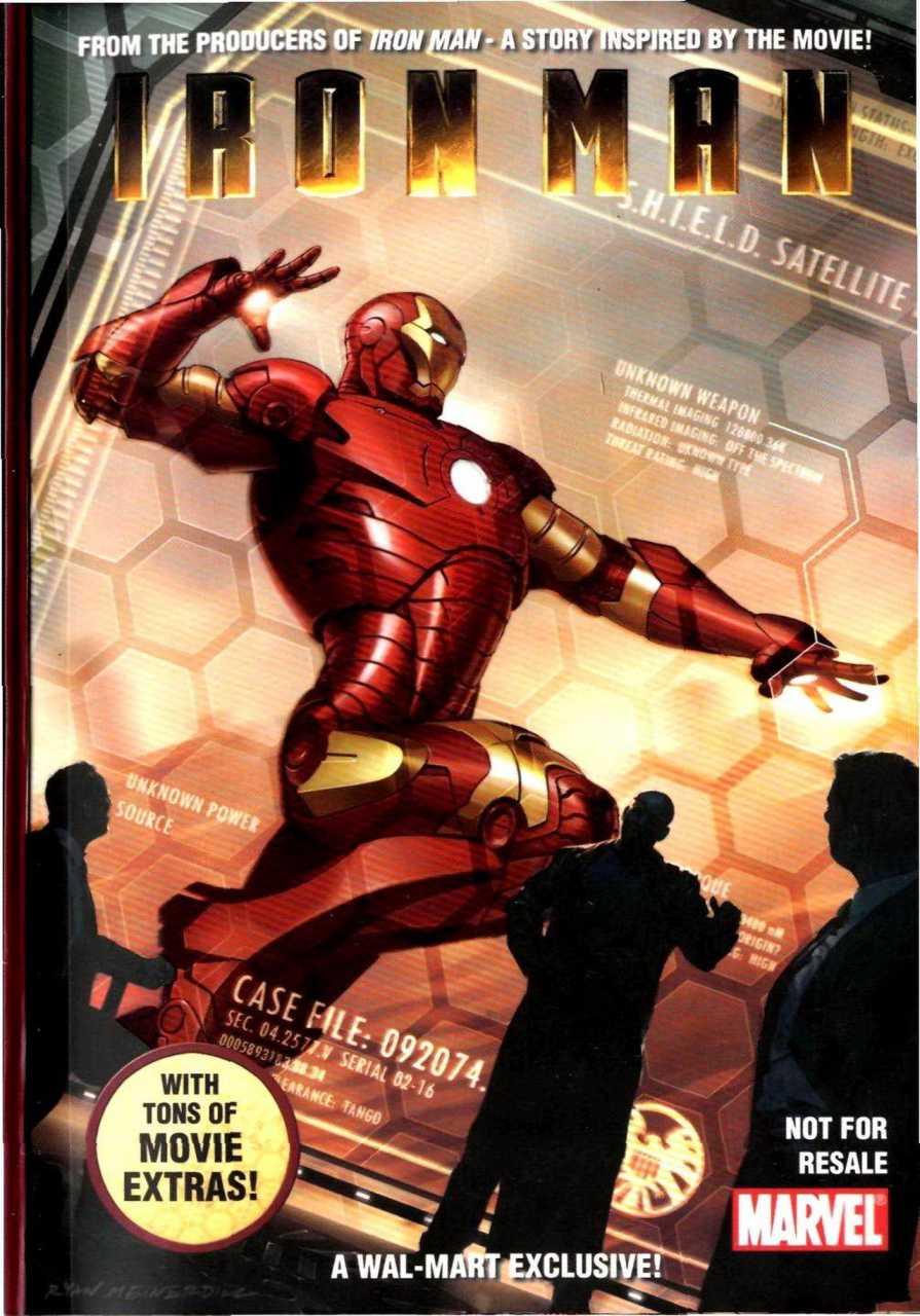 Iron Man Security Measures Vol 1 1
