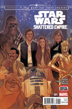 Journey to Star Wars The Force Awakens - Shattered Empire Vol 1 1