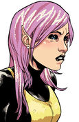 Megan Gwynn (Earth-616) from X-Men Pixie Strikes Back Vol 1 4 0001