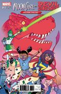 Moon Girl and Devil Dinosaur Vol 1 13 Story Thus Far Variant