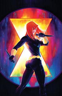 Web of Black Widow Vol 1 1 Hetrick Variant Textless