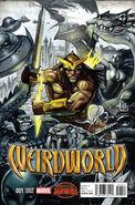 Weirdworld Vol 1 1 Bisley Variant