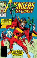 Avengers West Coast Vol 1 52