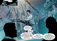 Berlin Wall from Captain America Man Out of Time Vol 1 3