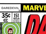 Daredevil Vol 1 151