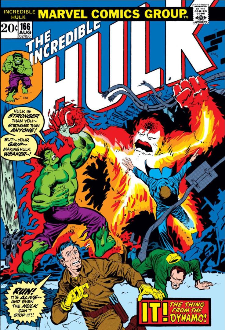 Incredible Hulk Vol 1 166