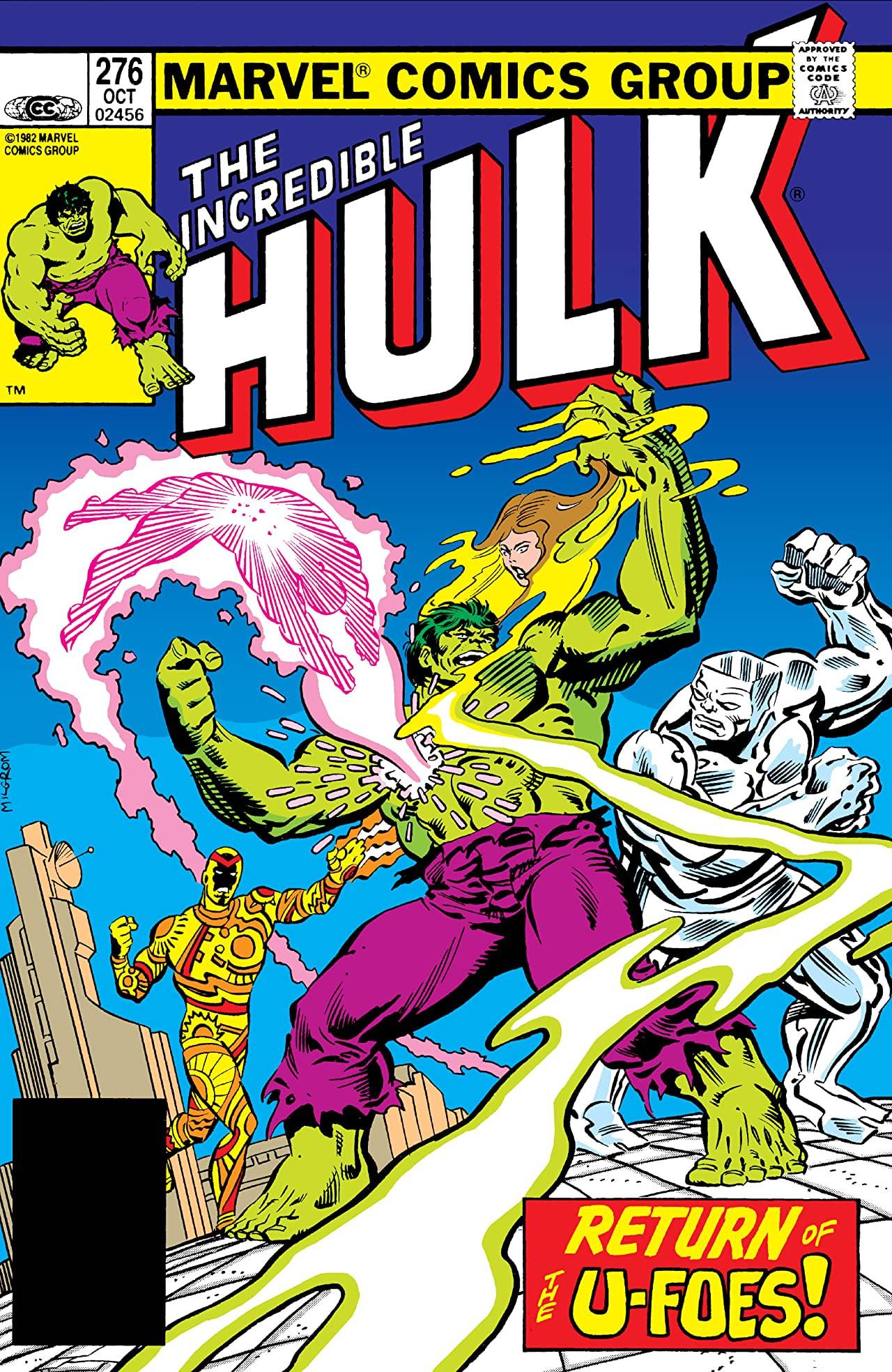 Incredible Hulk Vol 1 276