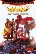 Inhumans Attilan Rising Vol 1 1 Forbes Variant Textless
