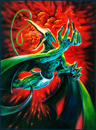 Karl Lykos (Earth-616) from Marvel Masterpieces (Trading Cards) 1995 Series 0001